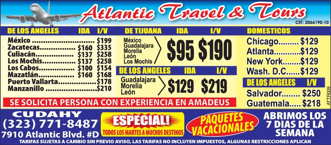 Atlantic Travel & Tours
