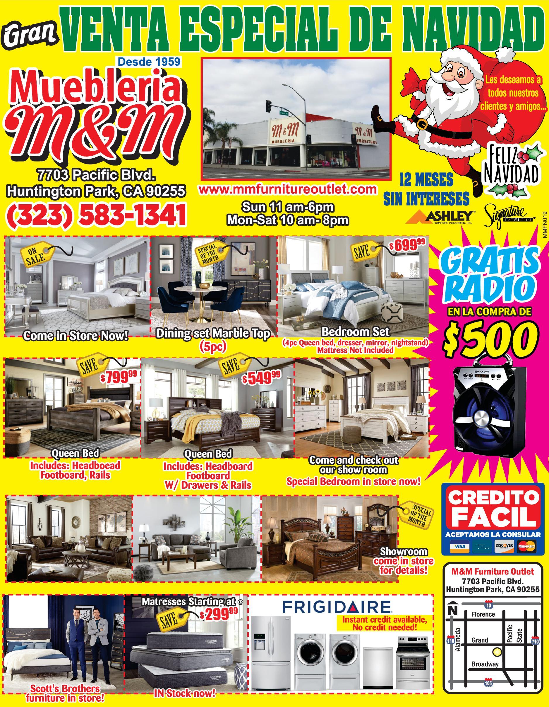 M & M Furniture
