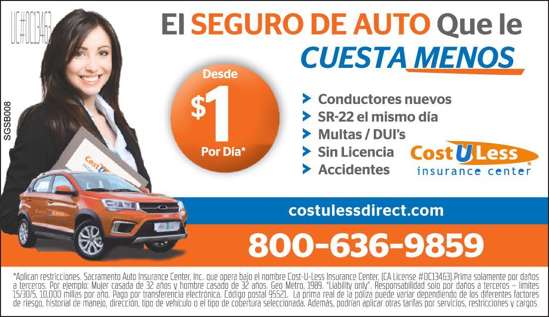 Seguros De Auto Cost U Less