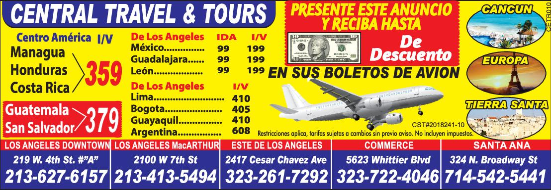 Central Travel & Tours
