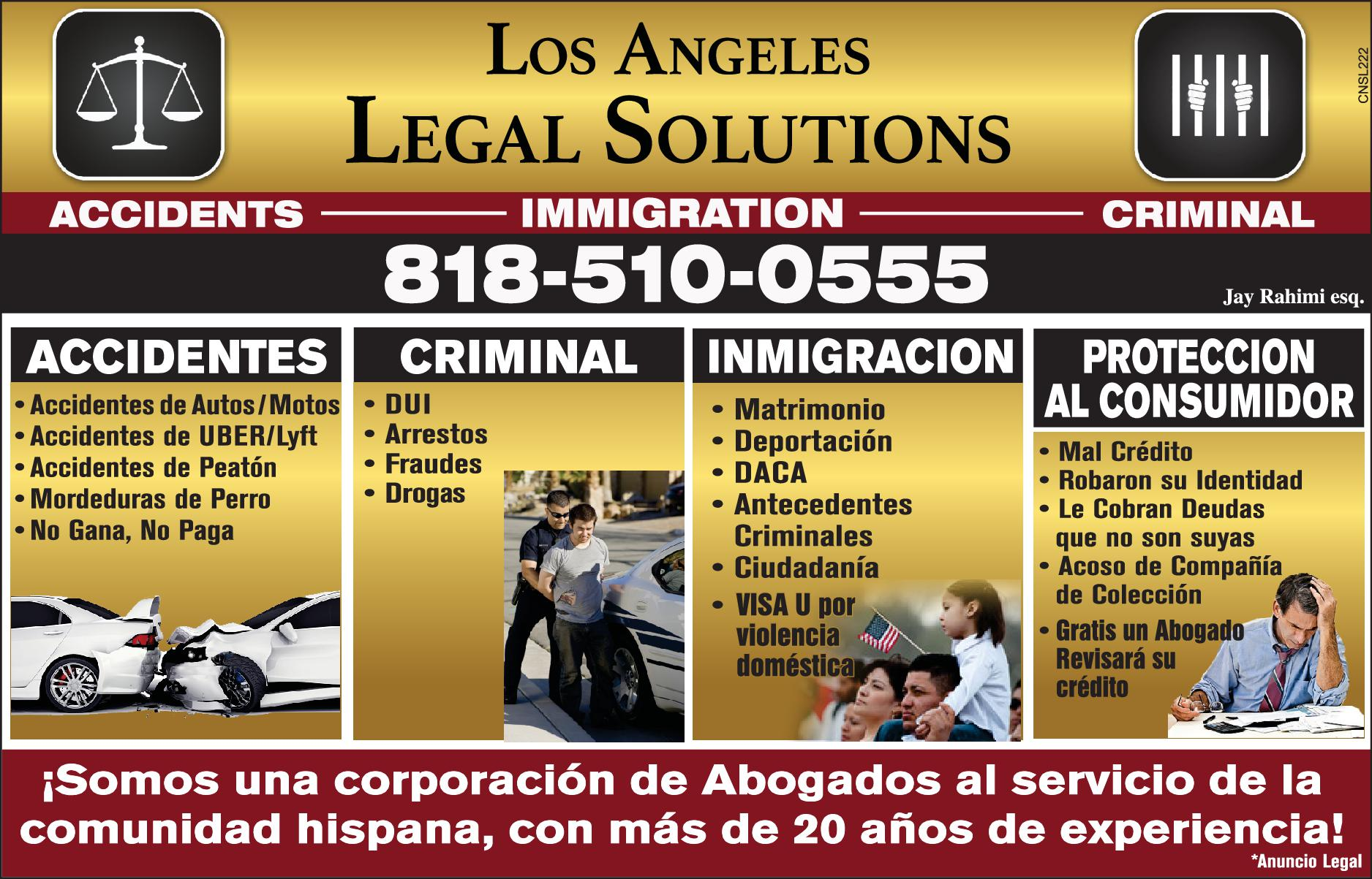 Legal Solutions – Los Angeles