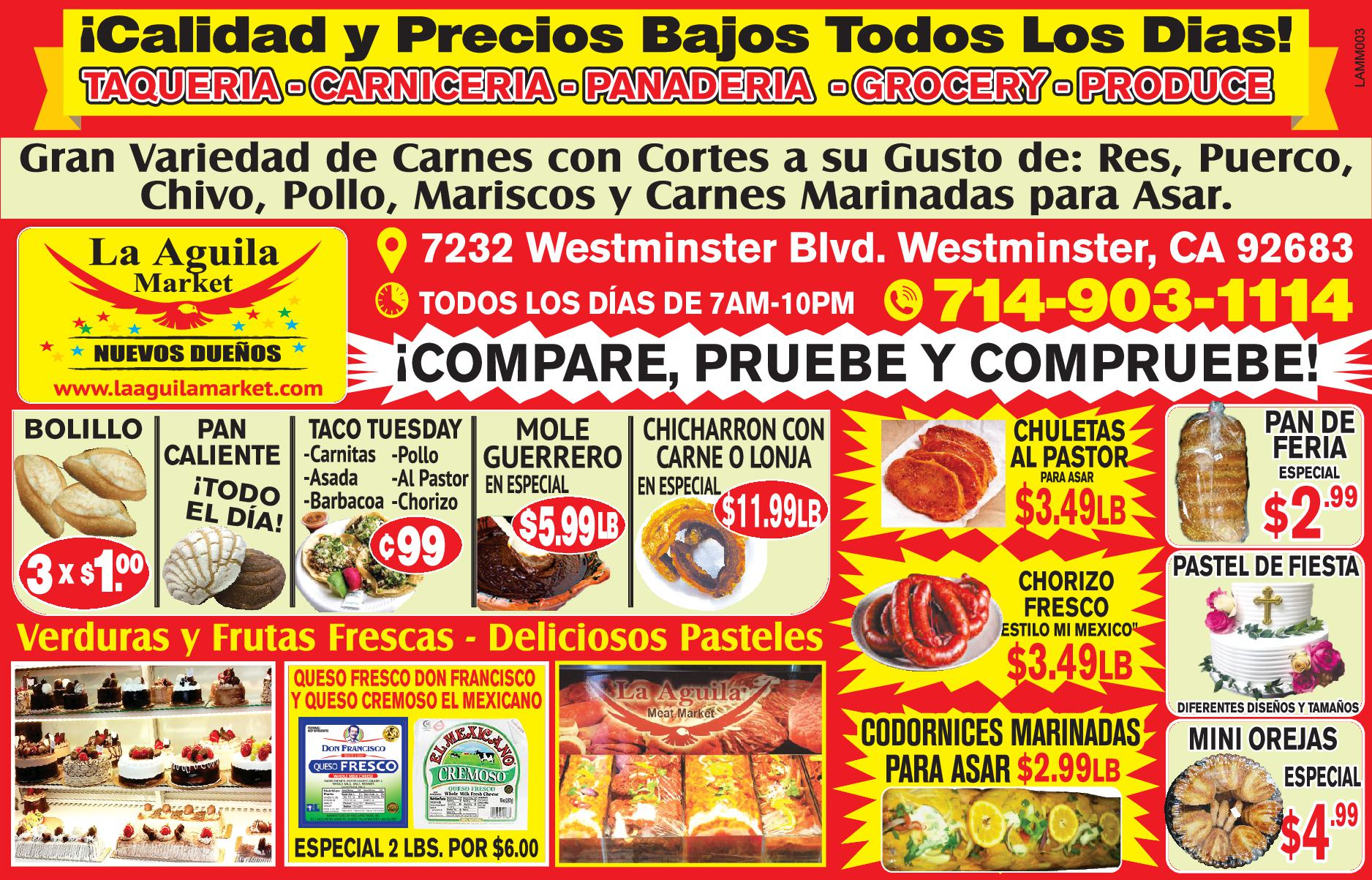La Aguila Meat Market