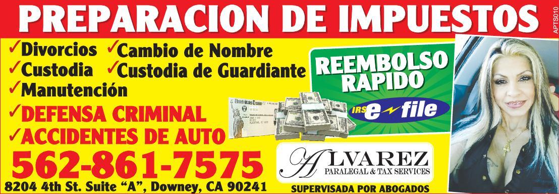 Alvarez Peralegal & Tax Services