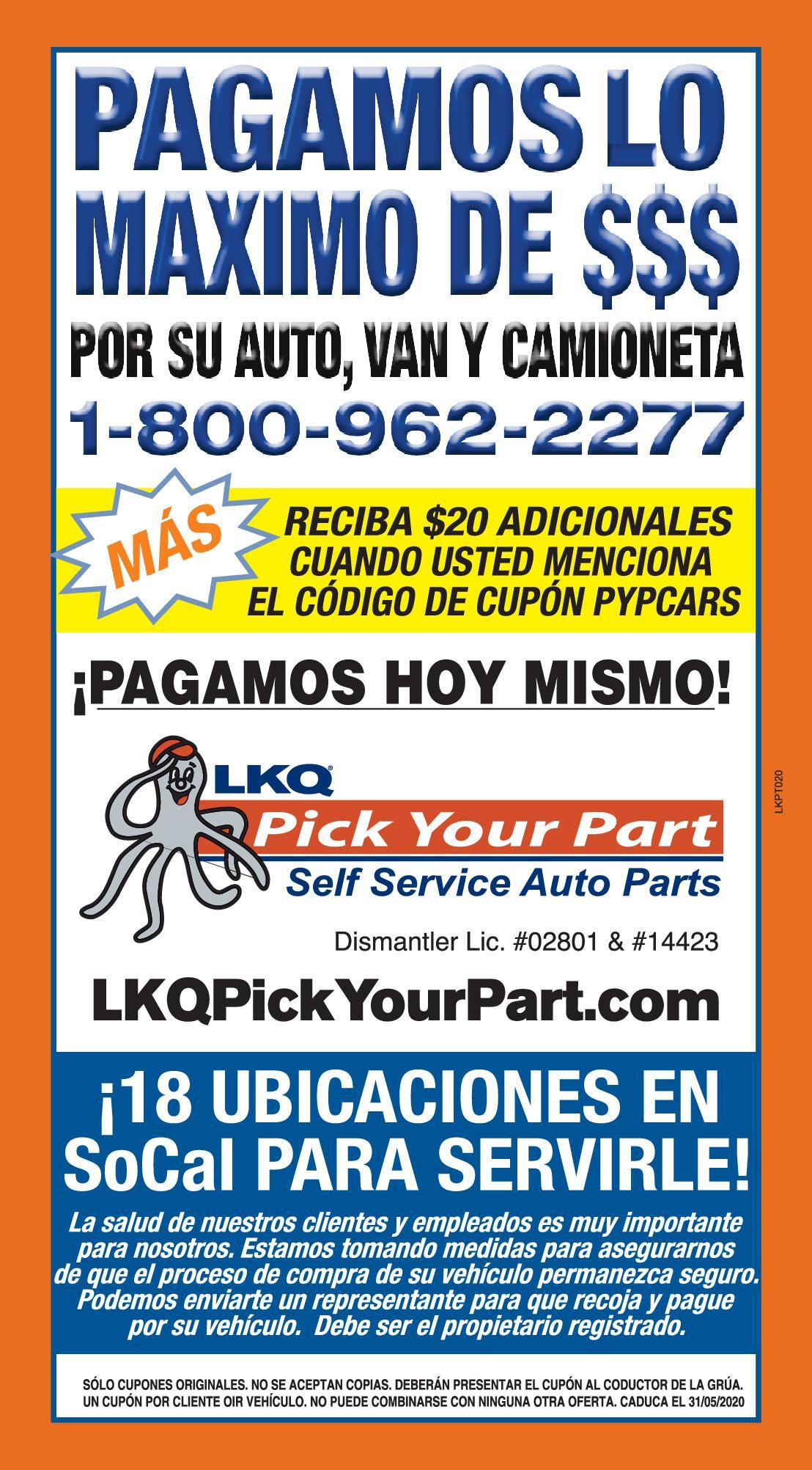 Lkq Pick Your Part