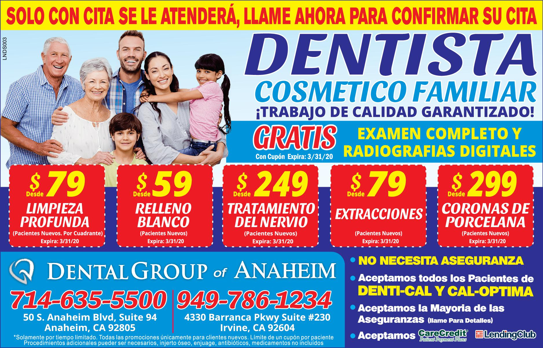 Dental Group Of Anaheim