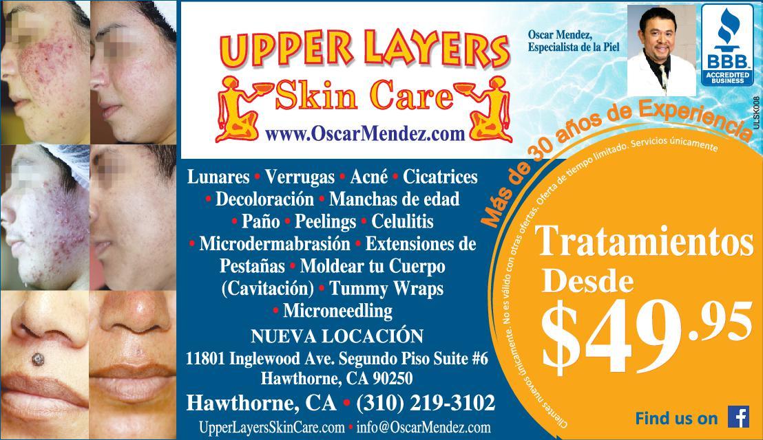 Upper Layers Skin Care Cuidado De La Piel