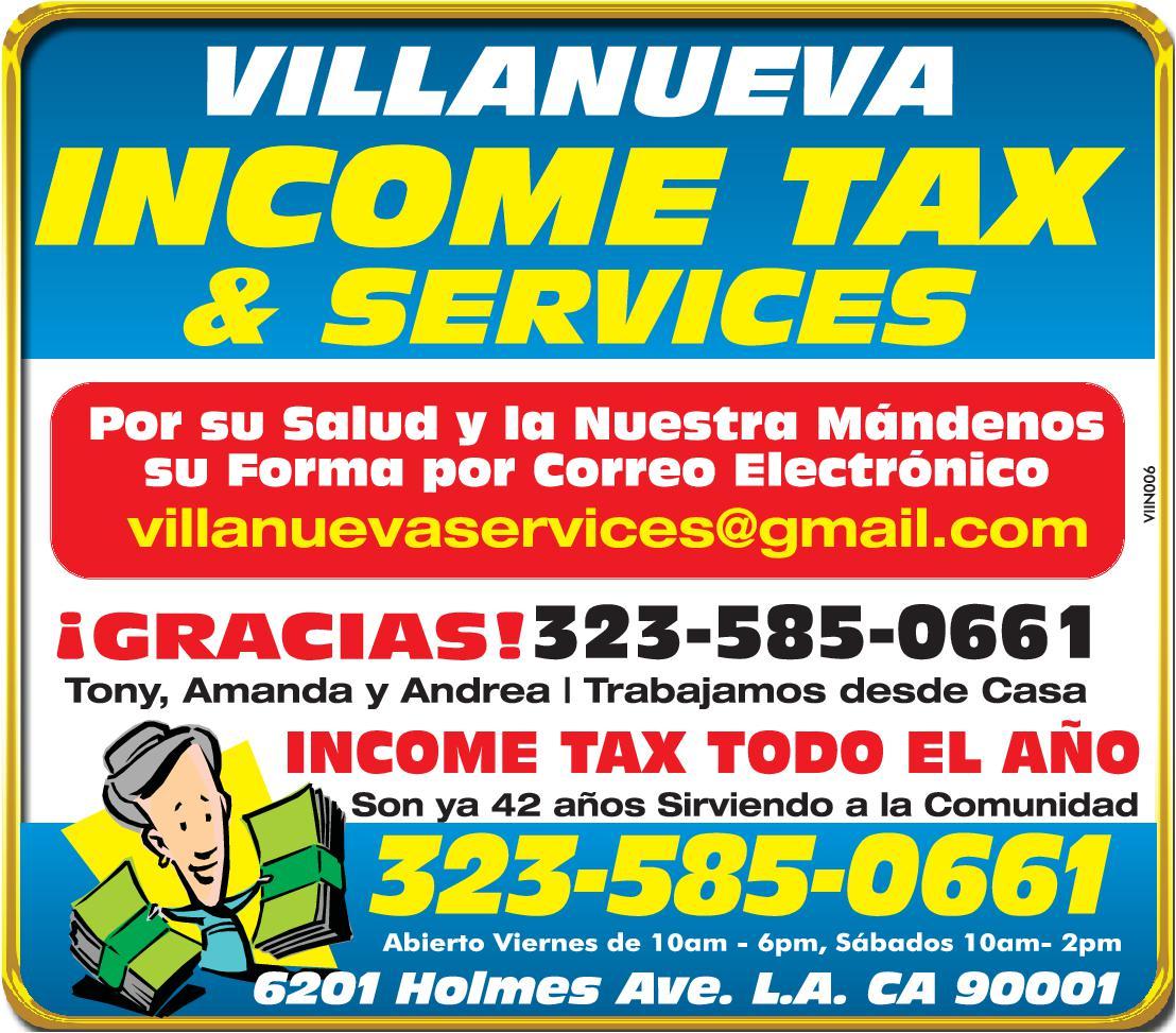 Villanueva Income Tax