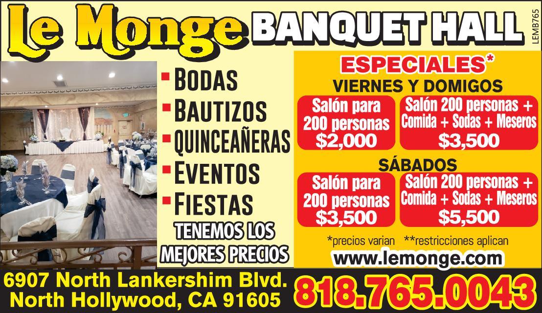 Le Monge Banquet Hall