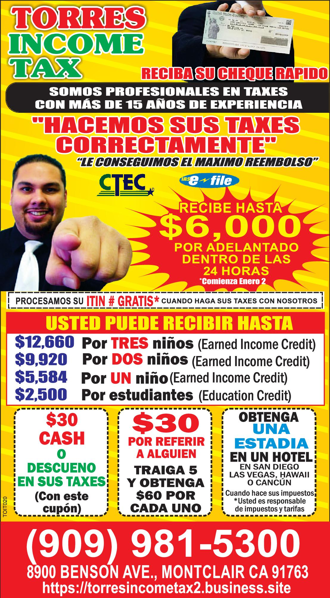 Torres Income Tax
