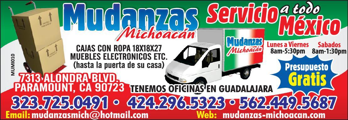 Mudanzas Michoacan