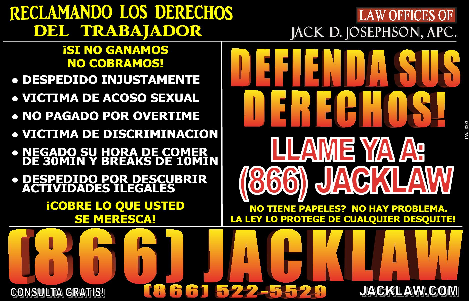 Law Office Of Jack D. Josephson