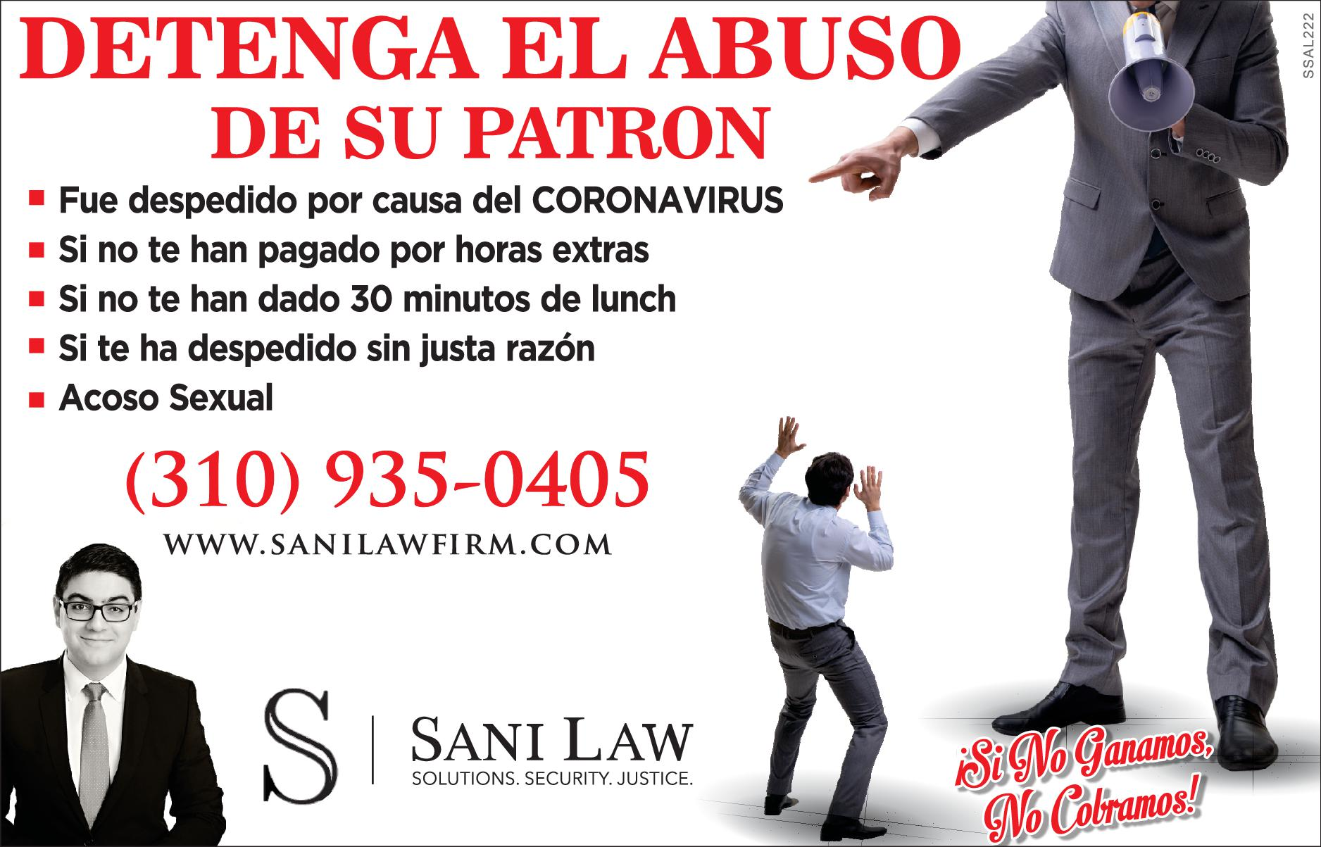 Sam Sani Attorney At Law
