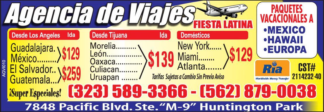 Agencia De Viajes - Fiesta Latina