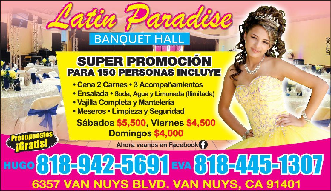 Latin Paradise Banquet Hall