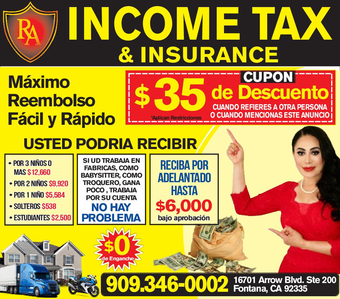 R&a Insurance & Tax Services