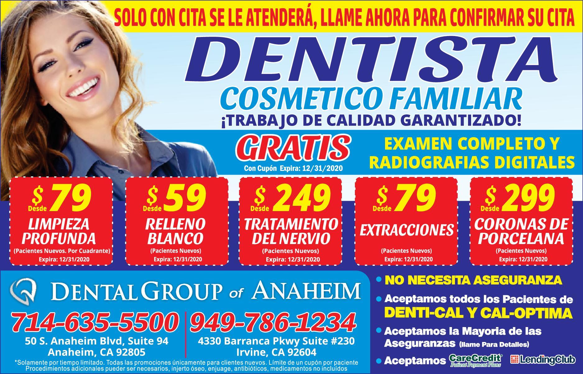 Dental Group Of Anaheim