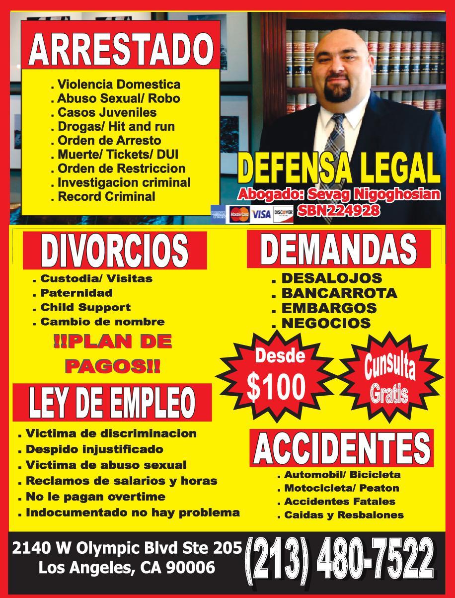 Grupo Impacto Legal - Abogado Sevag Nigoghosian