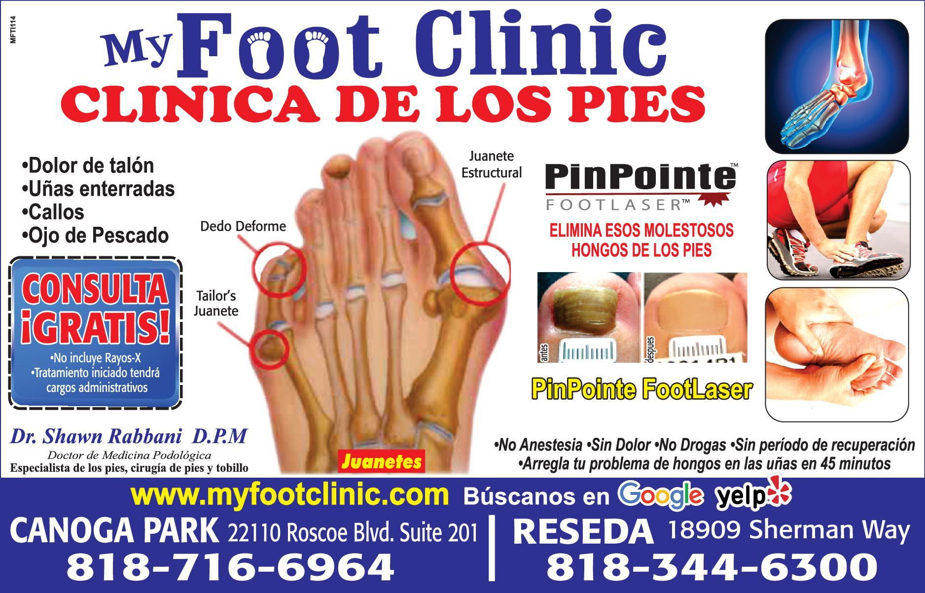 MY FOOT CLINIC DR. SHAWN RABBANI