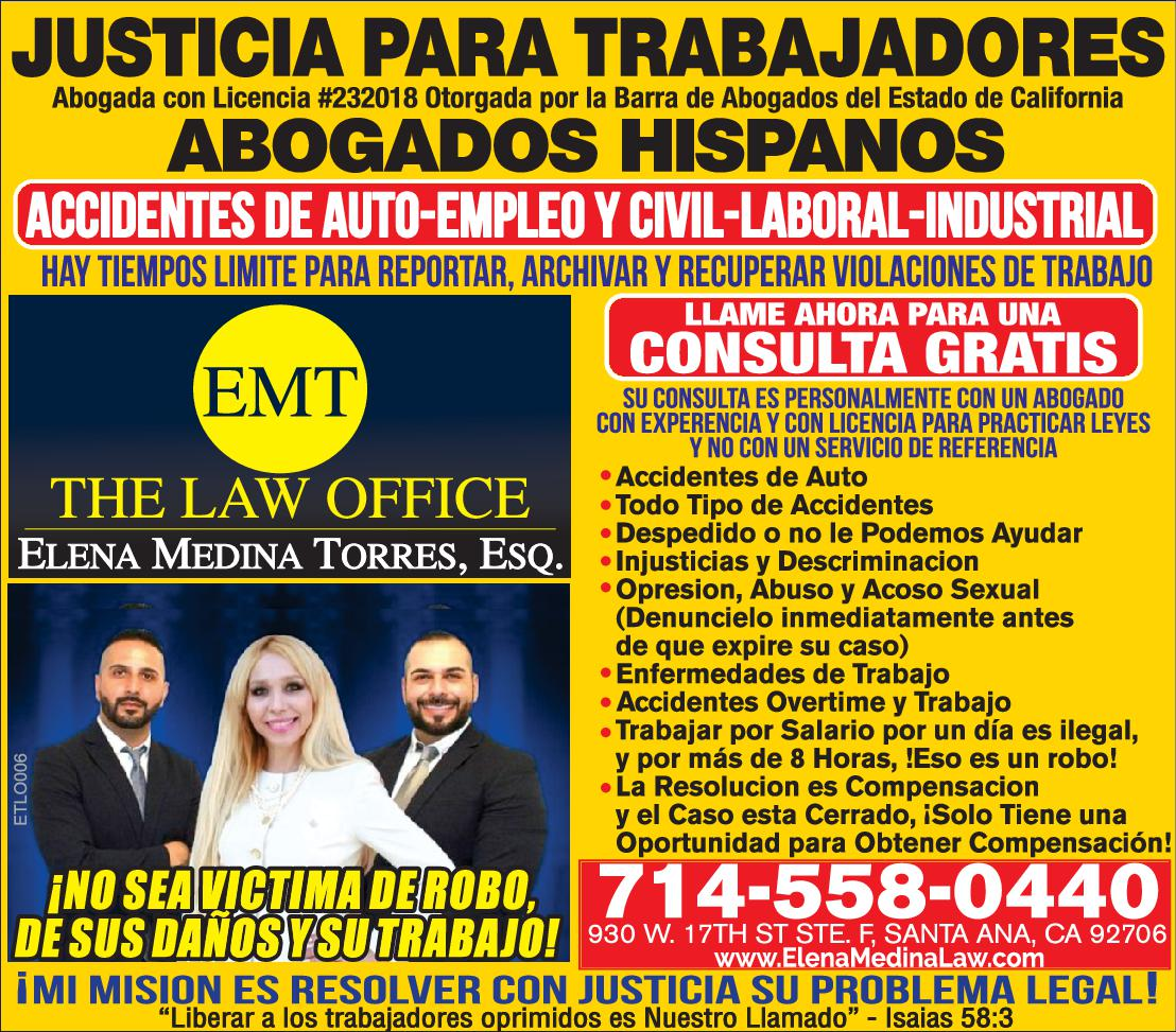 ELENA TORRES LAW OFFICE