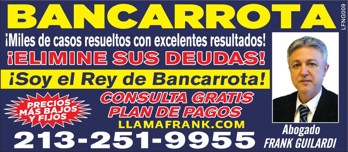 LAW OFFICE OF FRANK Y GUILARDI