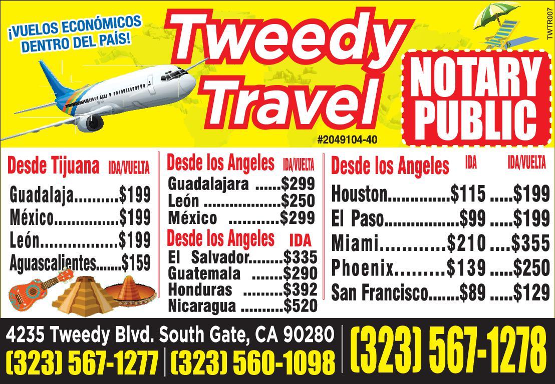 Tweedy Travel