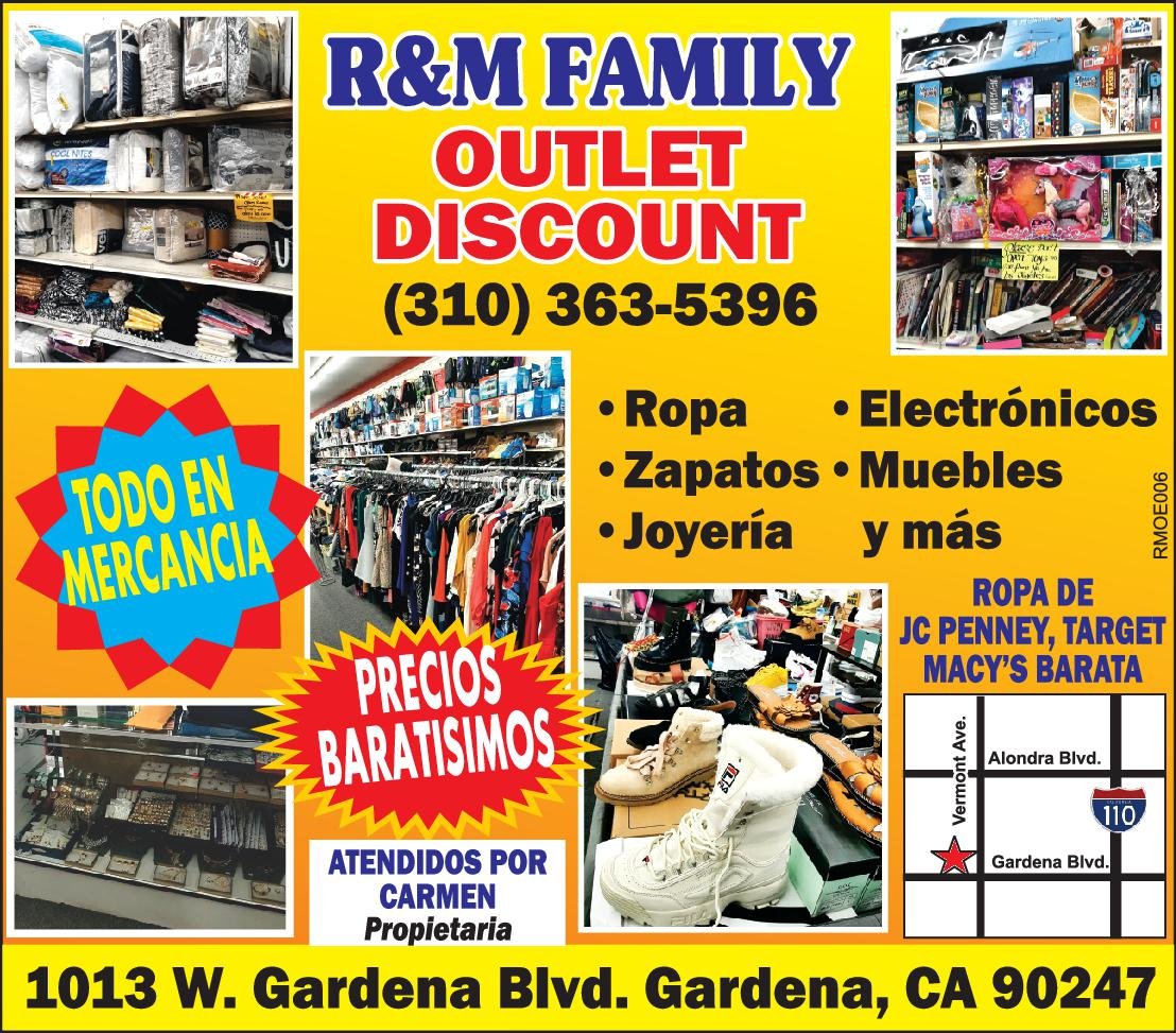 R & M OUTLET