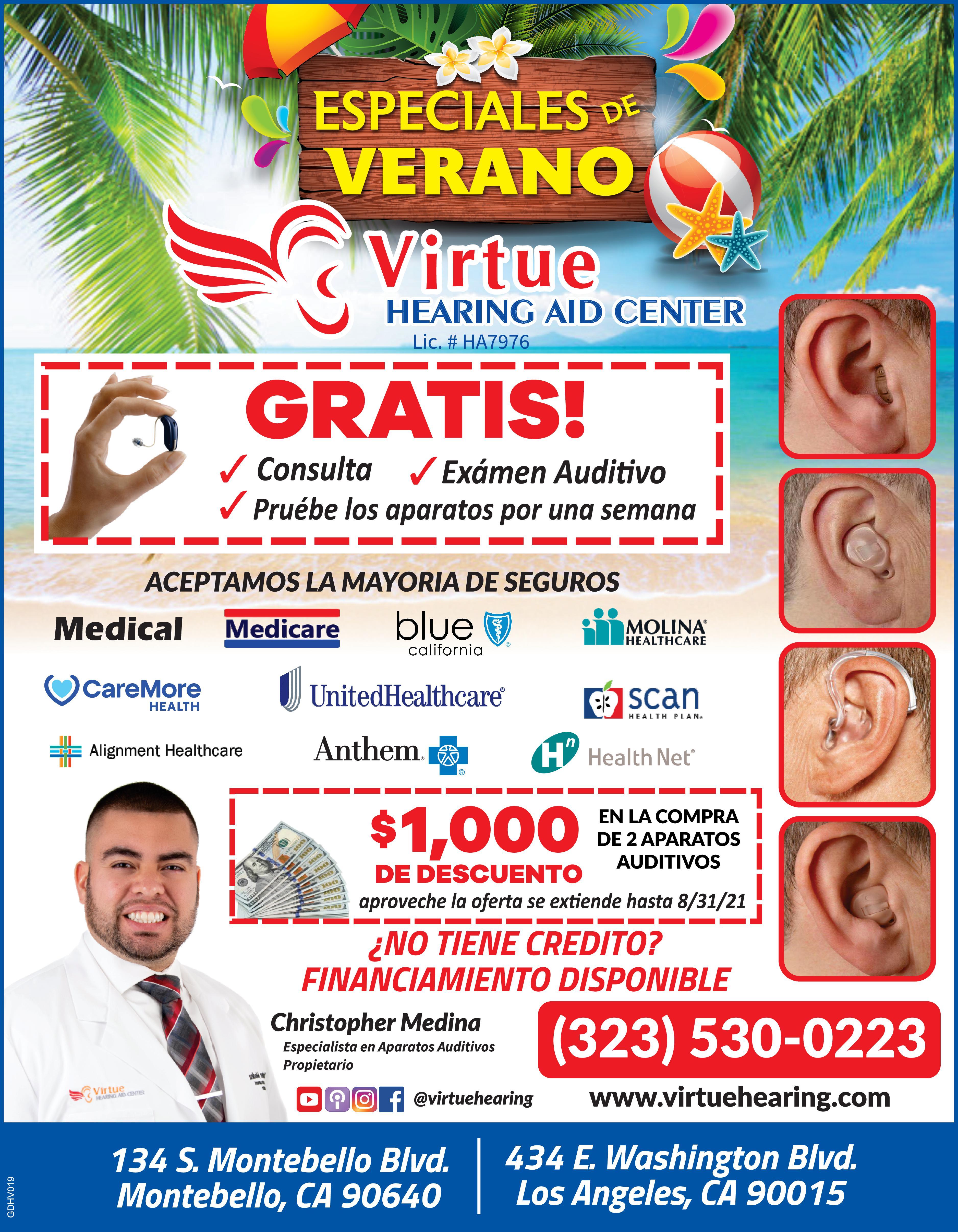 Virtue Hearing Aid Center
