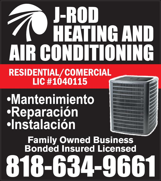 JROD HEATING AND A/C