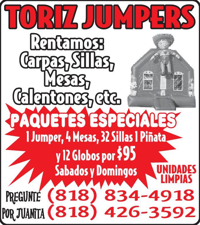 TORIS JUMPERS