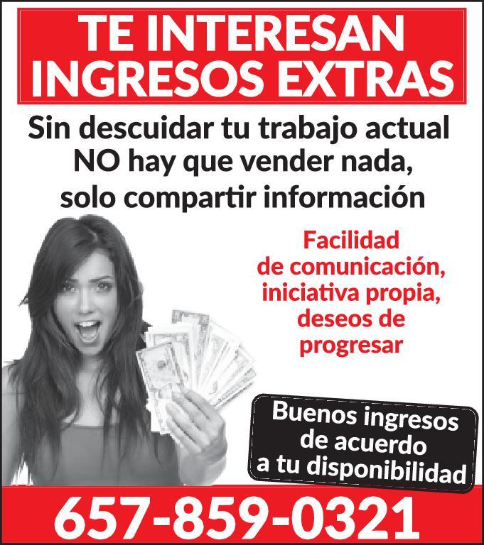 INGRESOS EXTRAS