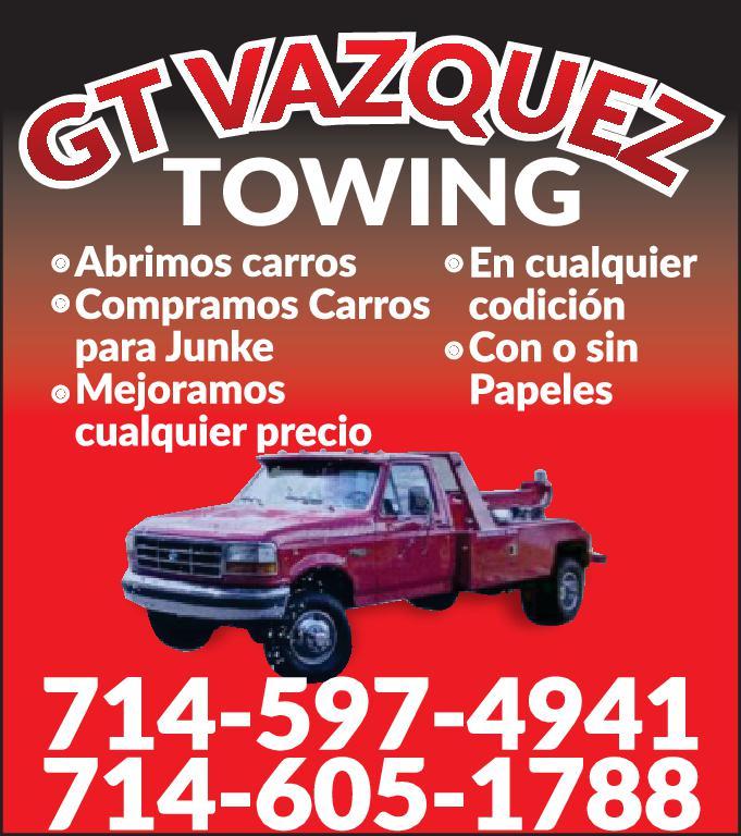 GT VASQUEZ TOWING